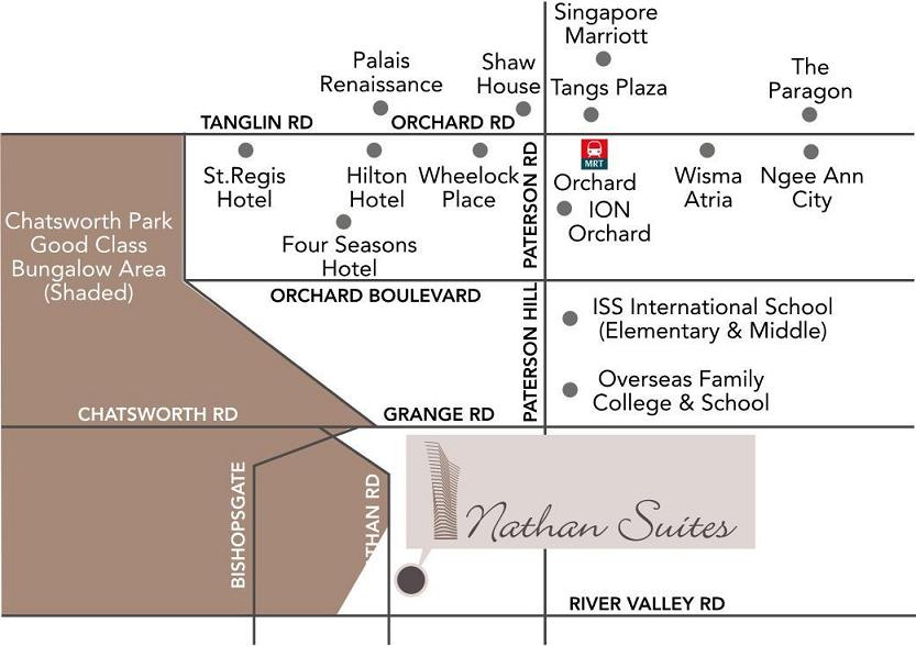 Nathan Suites Location