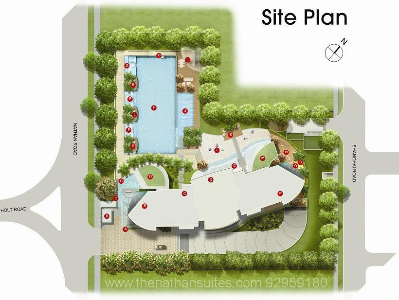 Nathan Suites Site Layout